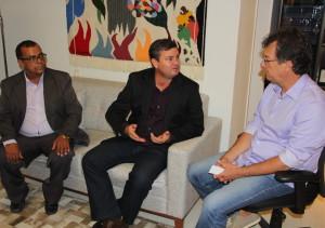 Nubem Bonfim, Jorge Husek e Laércio Oliveira